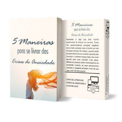 E-book PLR Ansiedade 5 Melhores Dicas