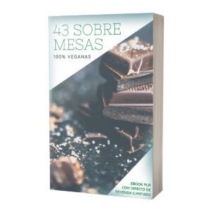 E-book PLR Receitas Sobremesas Vegetarianas