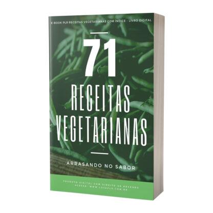 E-book PLR Receitas Vegetarianas