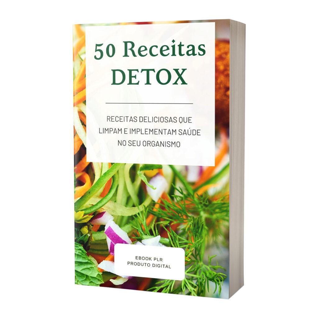 E-book PLR Detox 50 Receitas
